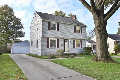 Clintonville Single Family Home Contingent Finance And Inspect: 131 E Weisheimer Road