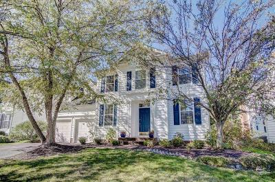 New Albany Single Family Home Contingent Finance And Inspect: 7362 Tottenham Place