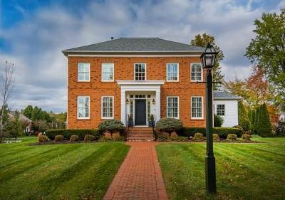 New Albany Single Family Home Contingent Finance And Inspect: 7284 E James River Road