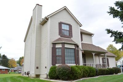 Pickerington Single Family Home Contingent Finance And Inspect: 840 Hill Road N