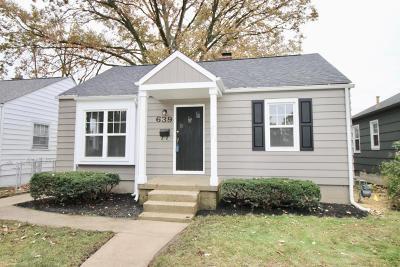 Single Family Home For Sale: 639 E Jeffrey Place