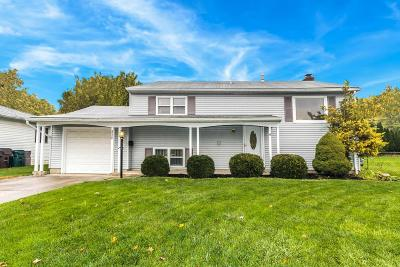 Westerville Single Family Home Contingent Finance And Inspect: 3524 Dahlgreen Drive
