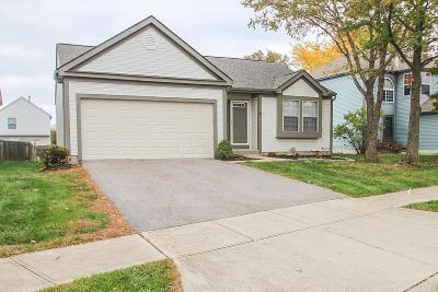 Pickerington Single Family Home Contingent Finance And Inspect: 3117 Sun Valley Drive