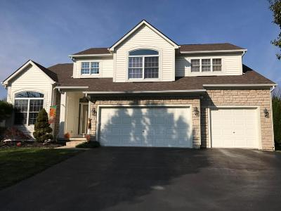 Hilliard Single Family Home Contingent Finance And Inspect: 5780 Plank Drive