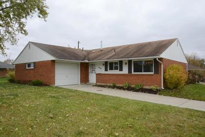 Reynoldsburg Single Family Home Contingent Finance And Inspect: 1849 Lucks Road