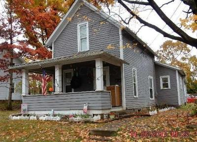 Mount Vernon OH Single Family Home For Sale: $64,900