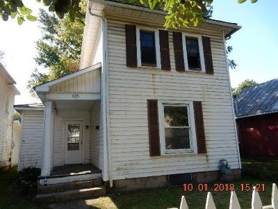 Mount Vernon OH Single Family Home For Sale: $35,000