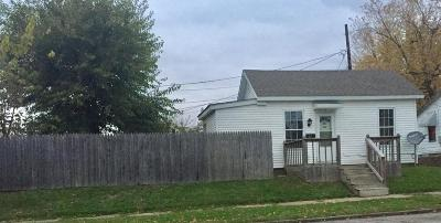 Circleville OH Single Family Home For Sale: $44,000