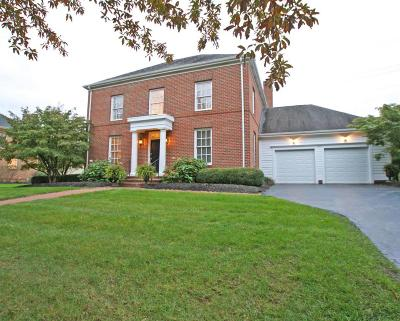 New Albany Single Family Home Contingent Finance And Inspect: 3481 Willow Grove