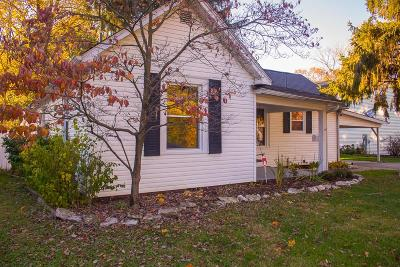 Reynoldsburg Single Family Home Contingent Finance And Inspect: 1513 Graham Road