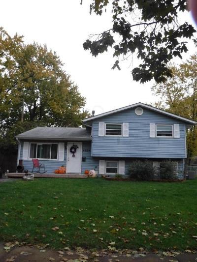 Hilliard Single Family Home For Sale: 4624 Paxton Drive S