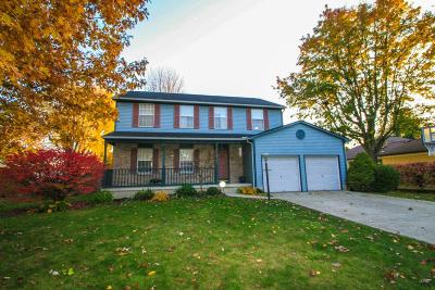 Pickerington Single Family Home Contingent Finance And Inspect: 240 Timber Ridge Drive