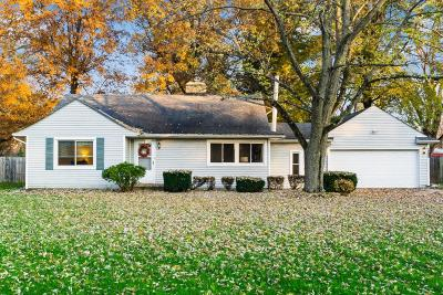 Westerville Single Family Home Contingent Finance And Inspect: 6317 S Old 3c Highway