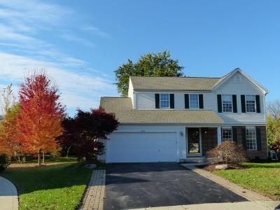 Dublin Single Family Home Contingent Finance And Inspect: 5698 Hathaway Court
