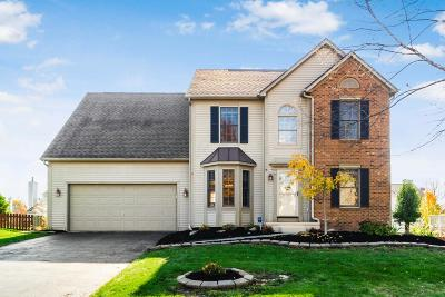 Pickerington Single Family Home Contingent Finance And Inspect: 12224 Bentwood Farms Drive