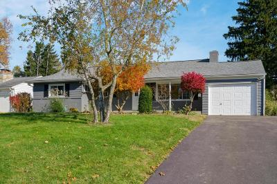 Upper Arlington Single Family Home Contingent Finance And Inspect: 3476 Sciotangy Drive
