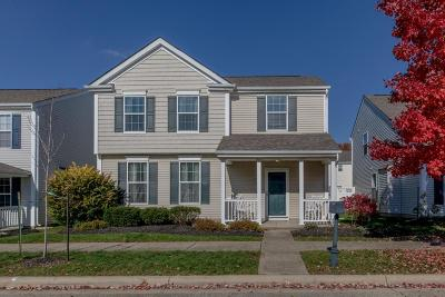 New Albany Single Family Home Contingent Finance And Inspect: 7176 Alma Terrace Drive