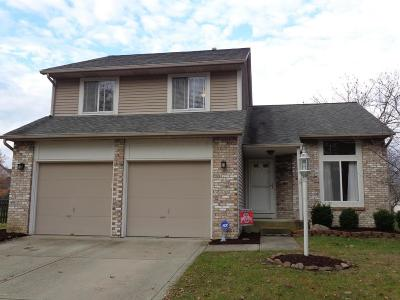 Hilliard Single Family Home Contingent Finance And Inspect: 4931 Leybourne Drive