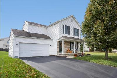 Pickerington Single Family Home Contingent Finance And Inspect: 405 Flat River Street