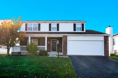 Westerville Single Family Home For Sale: 6594 Danbury Drive