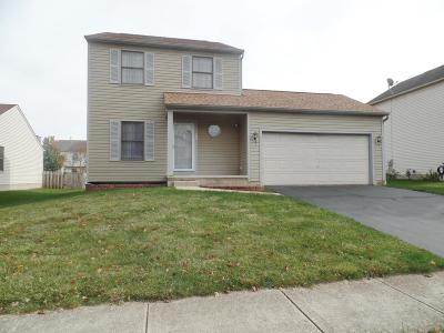 Pataskala Single Family Home Contingent Finance And Inspect: 509 Richwood Drive