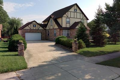 Hilliard Single Family Home Contingent Finance And Inspect: 5431 Tinapple Road