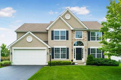 Hilliard Single Family Home Contingent Finance And Inspect: 5973 Hampton N
