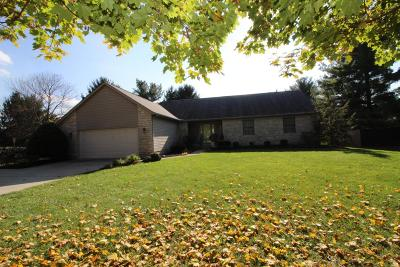 Pickerington Single Family Home Contingent Finance And Inspect: 8900 Chateau Drive