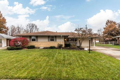Reynoldsburg Single Family Home Contingent Finance And Inspect: 6953 Shaulis Drive