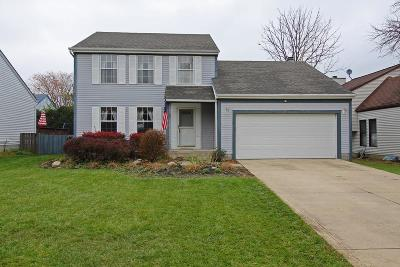 Worthington Single Family Home Contingent Finance And Inspect: 1248 Tranquil Drive