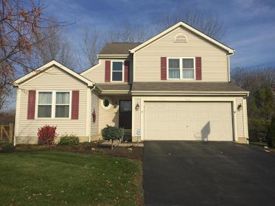 Canal Winchester Single Family Home Contingent Finance And Inspect: 7484 Tyler Henry Court