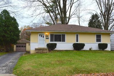 Upper Arlington Single Family Home Contingent Finance And Inspect: 2553 Woodstock Road