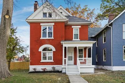 Columbus Single Family Home Contingent Finance And Inspect: 720 Oakwood Avenue