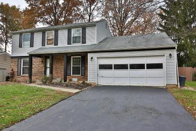 Westerville Single Family Home For Sale: 1043 Beddingfield Place