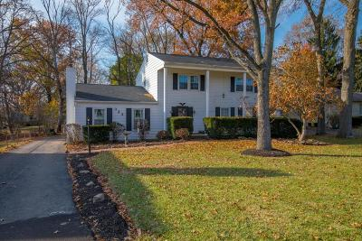 Gahanna Single Family Home Contingent Finance And Inspect: 323 N Hamilton Road