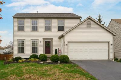 Hilliard Single Family Home Contingent Finance And Inspect: 4951 Hilliard Green Drive
