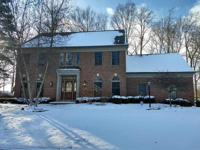 Hilliard Single Family Home Sold: 4817 Canterwood Court