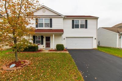 Canal Winchester Single Family Home Contingent Finance And Inspect: 7467 Canal Highlands Boulevard