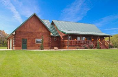 Franklin County, Delaware County, Fairfield County, Hocking County, Licking County, Madison County, Morrow County, Perry County, Pickaway County, Union County Single Family Home Contingent Finance And Inspect: 4549 Pickerington Road NW
