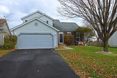 Canal Winchester Single Family Home Contingent Finance And Inspect: 6442 Fox Hill Drive