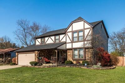 Reynoldsburg Single Family Home Contingent Finance And Inspect: 6474 Firethorn Avenue