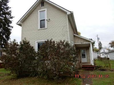 Mount Vernon OH Single Family Home For Sale: $26,900