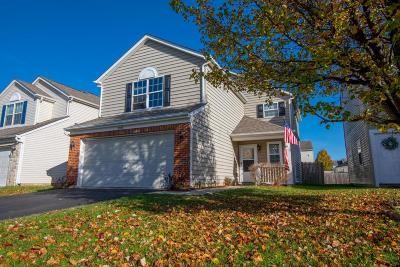 Canal Winchester Single Family Home Contingent Finance And Inspect: 3974 Boyer Ridge Drive