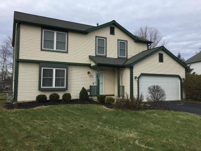 Pickerington Single Family Home Contingent Finance And Inspect: 9449 Winners Circle