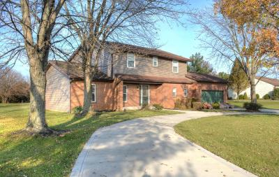 Canal Winchester Single Family Home Contingent Finance And Inspect: 7422 Lehman Road