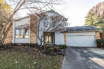 Westerville Single Family Home For Sale: 1369 Sugarberry Court