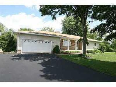 Centerburg Single Family Home Contingent Finance And Inspect: 7324 Porter Central Road