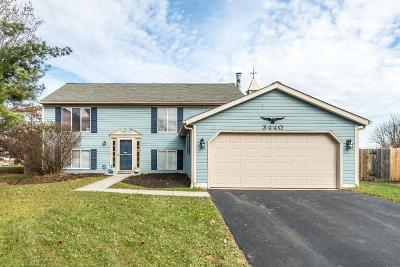 Canal Winchester Single Family Home Contingent Finance And Inspect: 3440 Taco Court