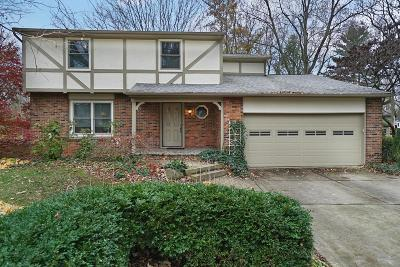 Worthington Single Family Home Contingent Finance And Inspect: 6179 Middlebury Drive W