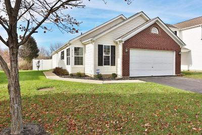 Canal Winchester Single Family Home Contingent Finance And Inspect: 4009 Boyer Ridge Drive